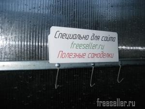 Самодельные проволочные крючки-вешалки для теплицы