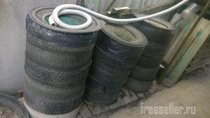Бочка для воды из шин
