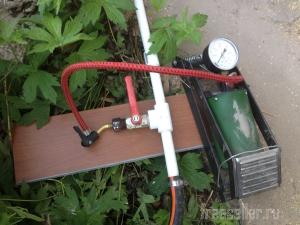 Подготовка садово-дачного водопровода к зиме