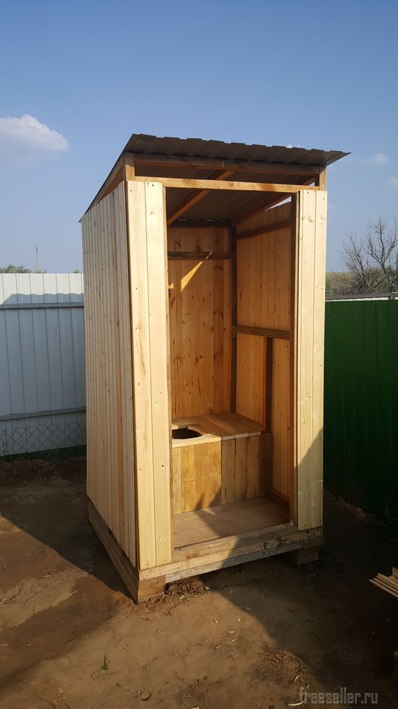 Туалеты для дачи своими руками из дерева фото чертежи 622