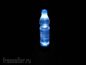 Светильник из пластиковой бутылки на случай отключения электричества