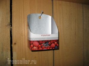 Простенькая мыльница из картонного пакета от молока или сока