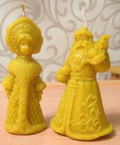 Самодельные силиконовые формы для отливки свечей, гипса