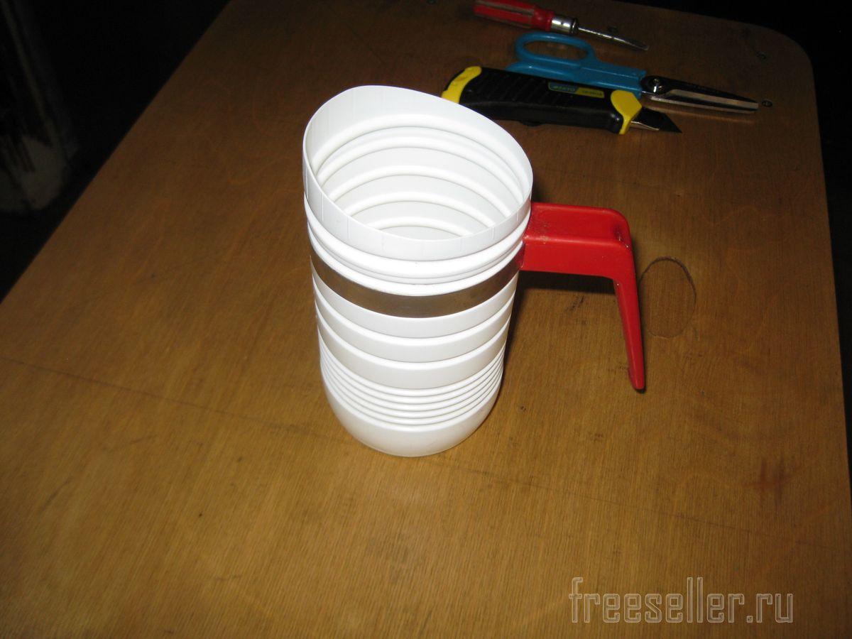 Как сделать совок из пластиковой бутылки фото 357