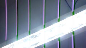 Светодиодный светильник из багета для штор