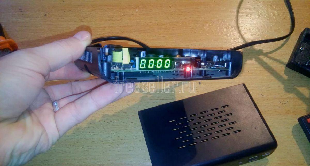 Ремонт цифровых приставок dvb-t2 своими руками