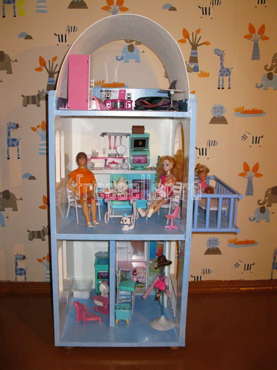 Мебель для кукол своими руками из подручных материалов 42