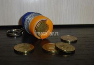 Монетница для мелочи из пластиковых бутылок