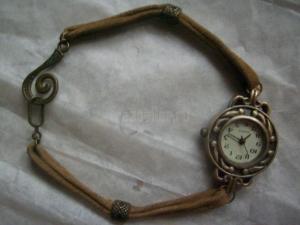 Тонкий ремешок для часов своими руками