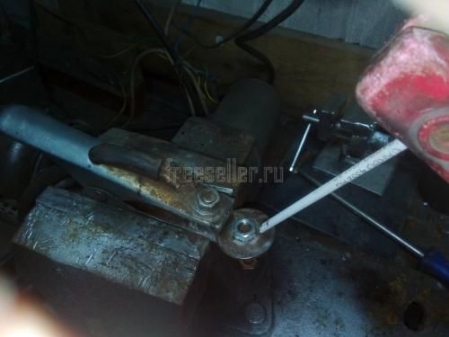 Изготовление съемника подшипников с якоря электродвигателя и генератора