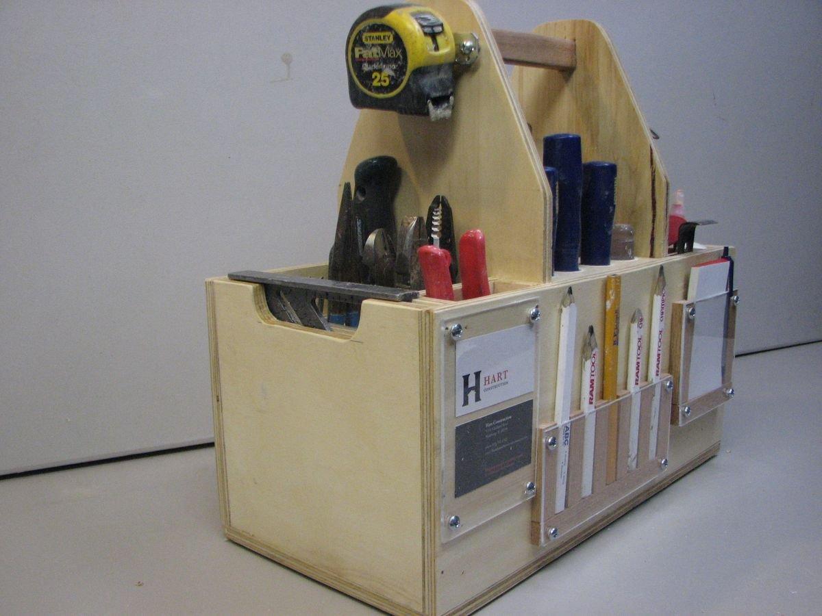 Переносные ящики для инструментов своими руками 787