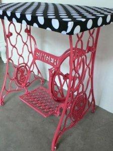 Столы из старых швейных машин