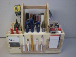 Самодельный ящик органайзер для инструментов