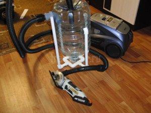 Самодельный циклон для пылесоса из пластиковой бутылки