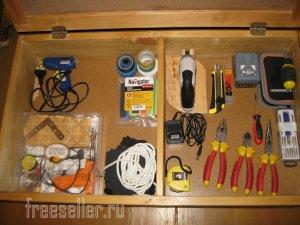 Самодельный выдвижной ящик для инструмента