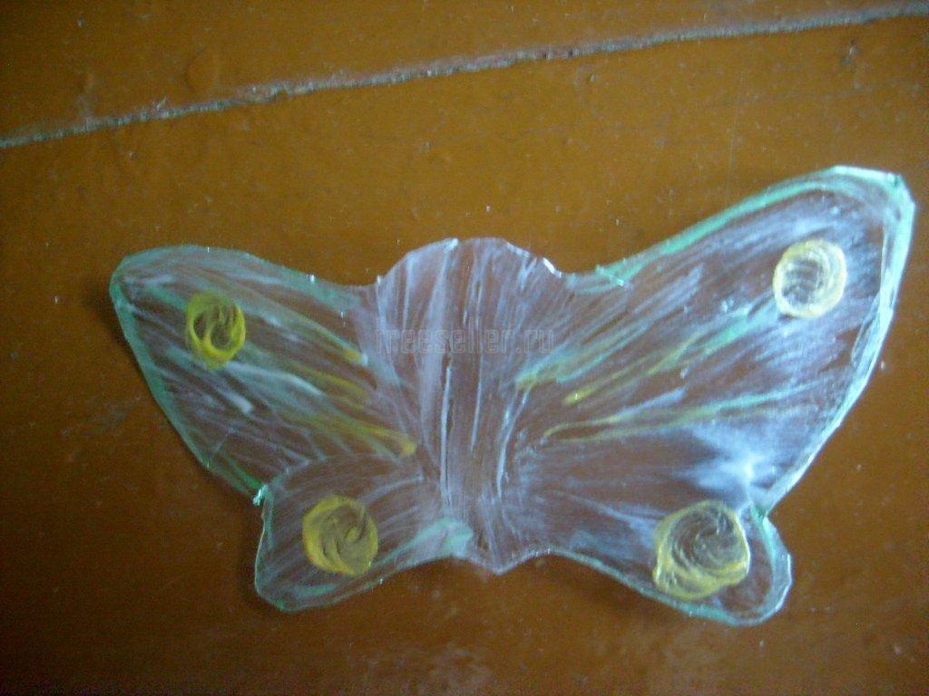 Как сделать бабочек своими руками из пластиковых бутылок своими руками фото 756