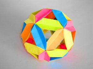 3D гипер шар из бумаги