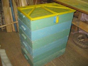 Наборный ящик из секций для хранения овощей