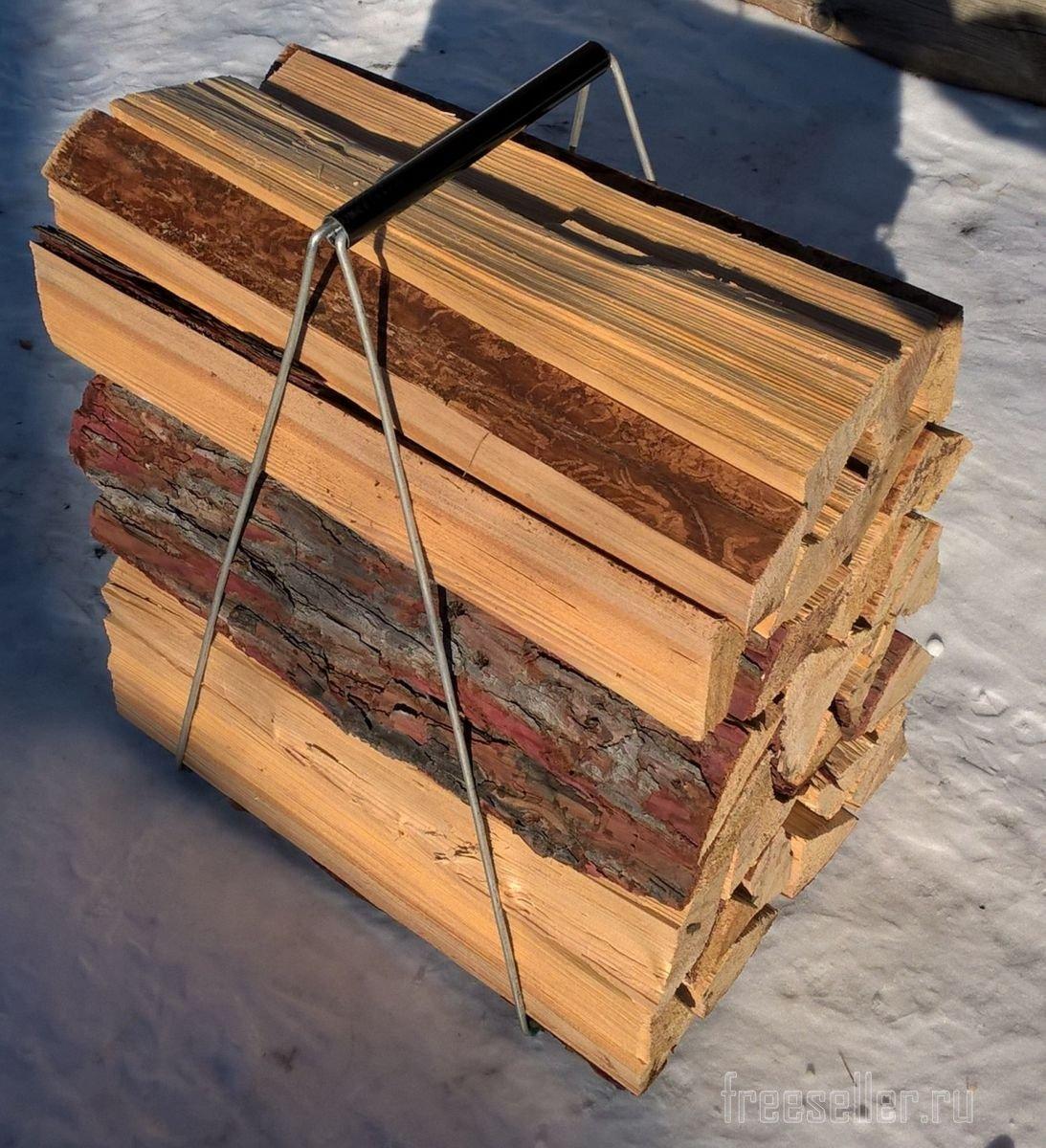Устройство для переноски дров своими руками