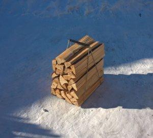 Рамочные носилки для дров
