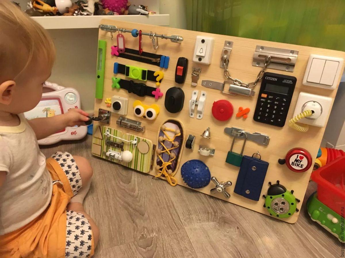 Бизиборд своими руками для девочек фото пошаговая инструкция