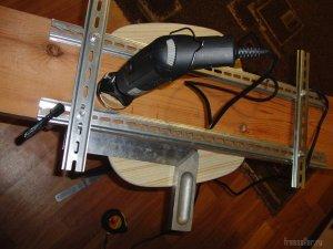 Динамический шаблон для бормашинки на скорую руку