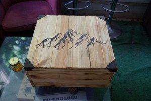 Ящик для инструментов из поддонов