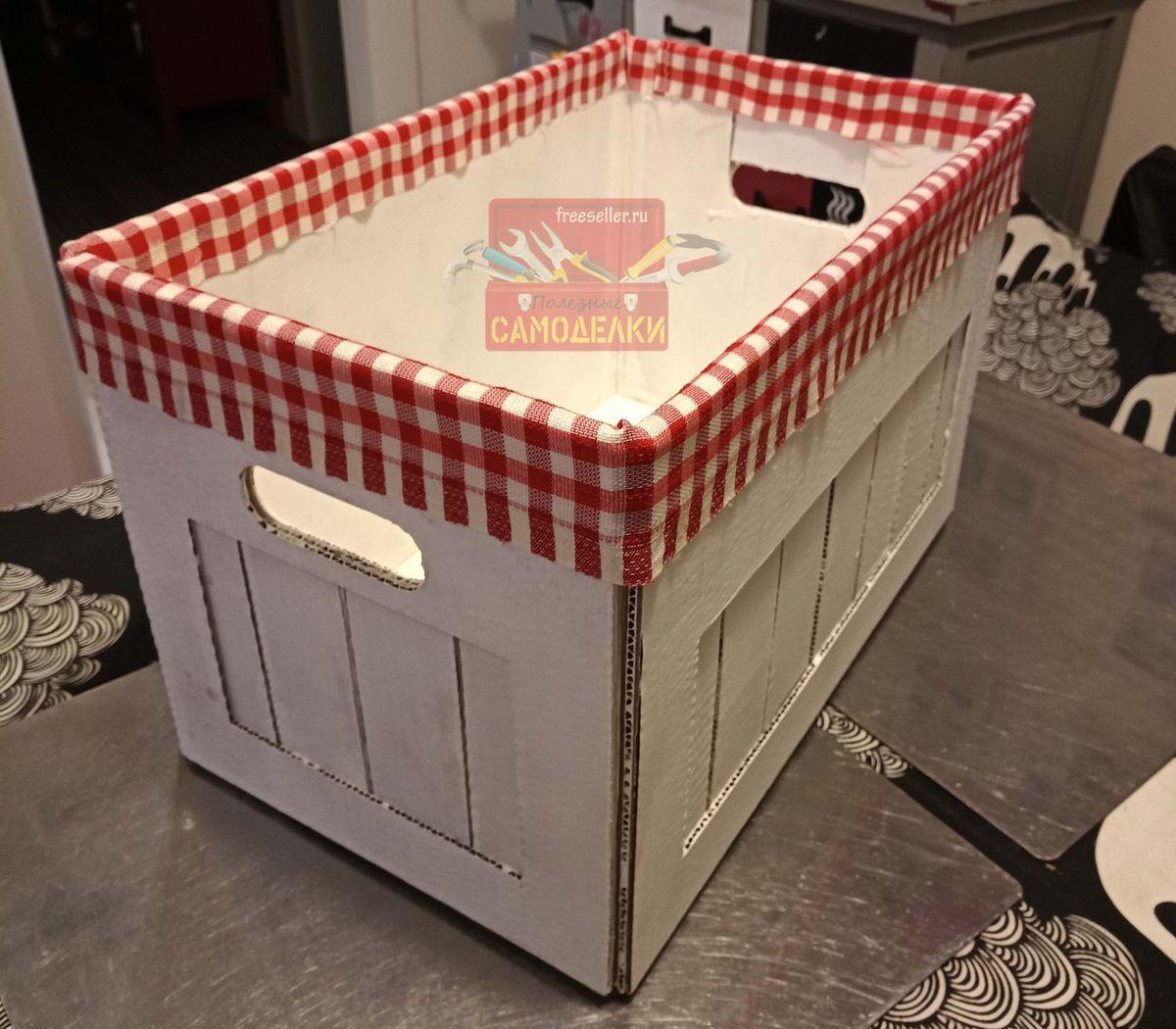 Как сделать красивые коробки для хранения вещей. - allWomens 37