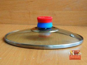 Самодельная ручка на крышку кастрюли за 5 минут